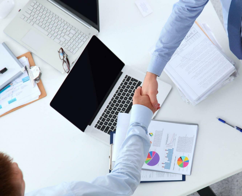 Üzletviteli segítség